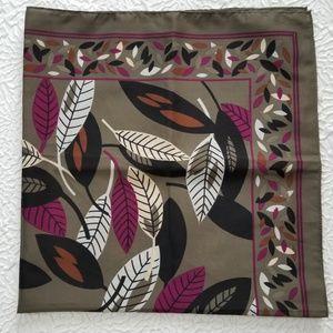 Accessories - Gloria USA Vintage Leaf desigScarf Made in Japan